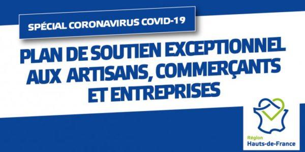 COVID-19 : LA RÉGION DÉPLOIE UN PLAN DE SOUTIEN EXCEPTIONNEL