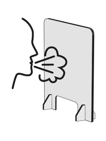 Illustration cloison verticale
