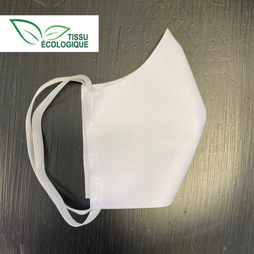 masque en tissu écologique
