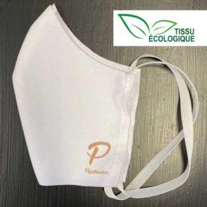 Lot de 5 masques tissu écologiques personnalisés