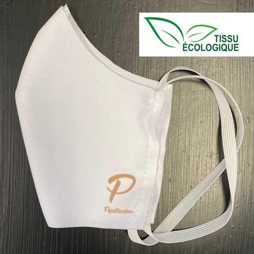 lot de masques en tissu écologique personnalisables