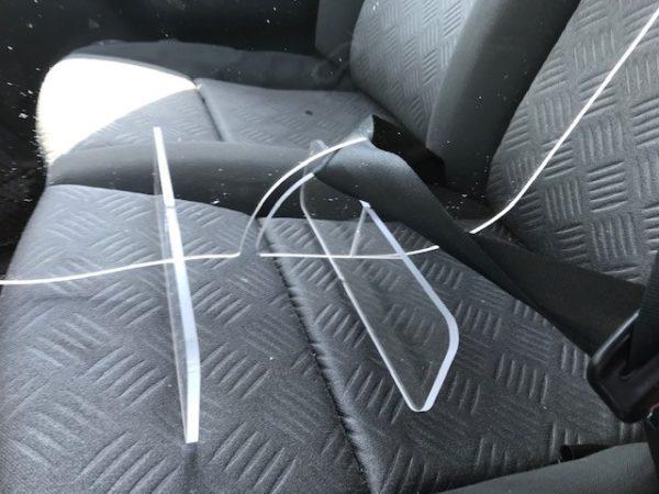 plexi de séparation véhicule