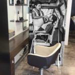 Cloison de séparation en aluminium imprimé – Format 170 x 90 cm