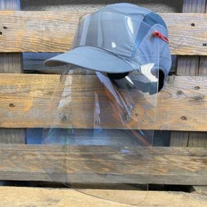 Visière de protection pour casquette (non fournie)