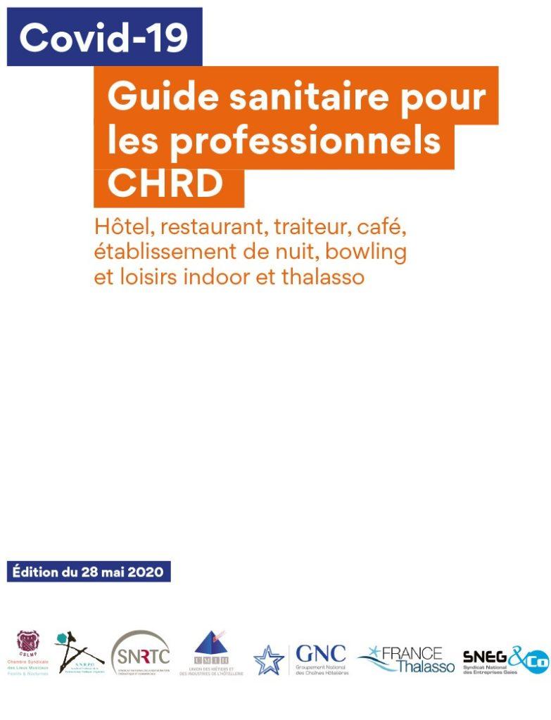 Guide sanitaire pour les professionnels CHRD