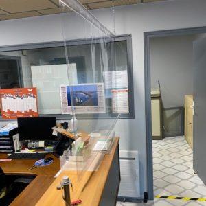 Bâche PVC cristal – Format 137 x 100 cm