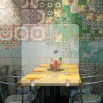 Cloison de séparation de table de restaurant en plexi – Format 70 x 65 cm
