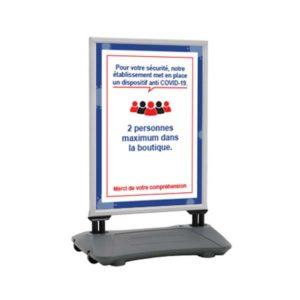 Panneau d'affichage à ressort – Format 118,8 x 84 cm