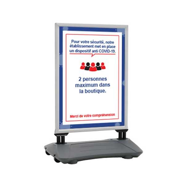 PREVENTION-VIRUS.COM - Stop trottoir à roulettes