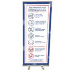 Roll up impression COVID-19 – Format 200 x 80 cm
