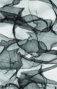 Abstrait toile noir et blanc