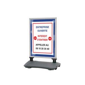 Panneau d'affichage à ressort – Format 100 x 70 cm