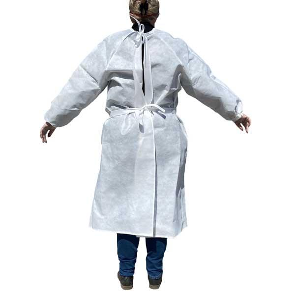 sur-blouse de protection en tissu écologique lavable