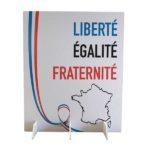 Cloison de séparation mur de vote – Format 180 x 150 cm