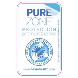 Film de protection anti microbien Pure Zone